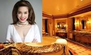 'Hà Hồ đi nghỉ tại khách sạn làm từ 40 tấn vàng' hot nhất mạng XH trong ngày