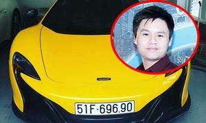 'Thiếu gia Phan Thành lái siêu xe 19 tỷ biển 6969 ở Sài Gòn' nóng trên Vitalk