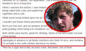 'Du khách Anh xin lỗi gia đình trước khi leo Fansipan' nóng trên Vitalk