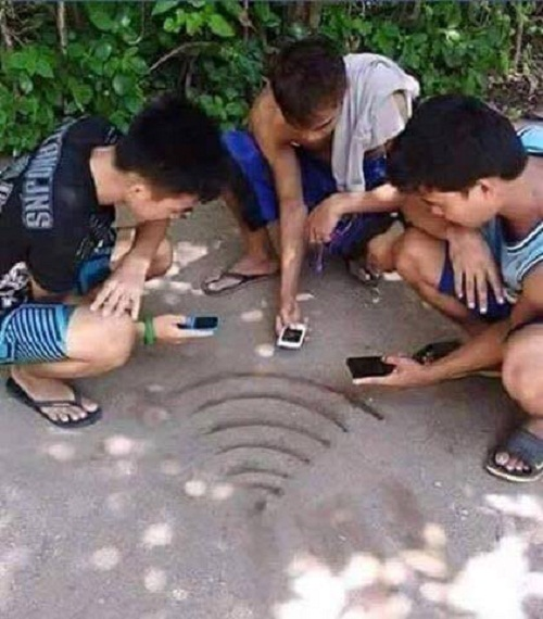 Sóng wifi siêu mạnh.