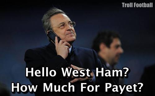 Ngay lập tức ông chủ Real Madrid đánh tiếng hỏi mua.