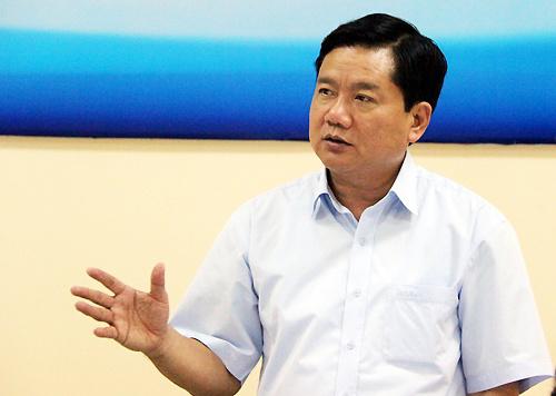 Bí thư Thành ủy TP HCM Đinh La Thăng.