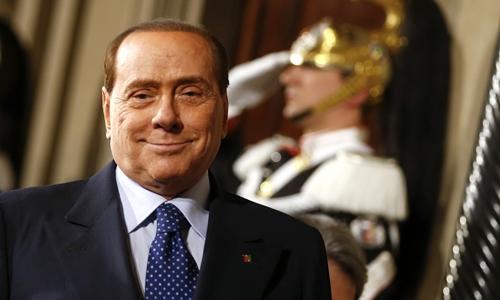 Cựu thủ tướng Italy Silvio Berlusconi. Ảnh: Reuters.