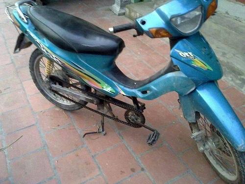 Xe máy động cơ xe đạp.