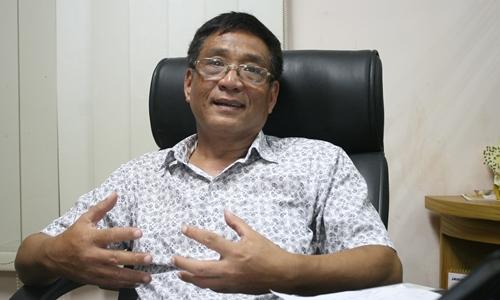 Tiến sĩ Hoàng Ngọc Giao, Viện trưởng Viện nghiên cứu Chính sánh, Pháp luật và Phát triển. Ảnh: Thanh Phong.