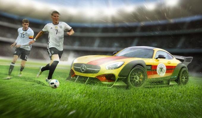 Bản sắc của các đội bóng Euro 2016 qua từng mẫu xe