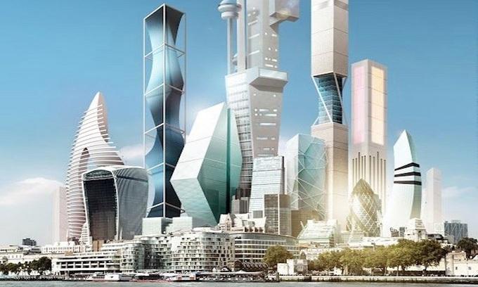Cuộc sống ở thành phố tương lai năm 2045