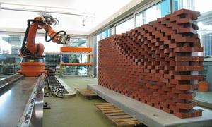 Robot xây nhà cao 200 m trong một ngày