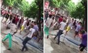 Video khoảng 60 côn đồ truy sát một gia đình ở Phú Thọ