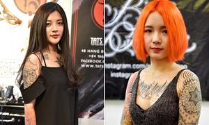 Những người đẹp xăm mình nổi bật ở lễ hội hình xăm Hà Nội