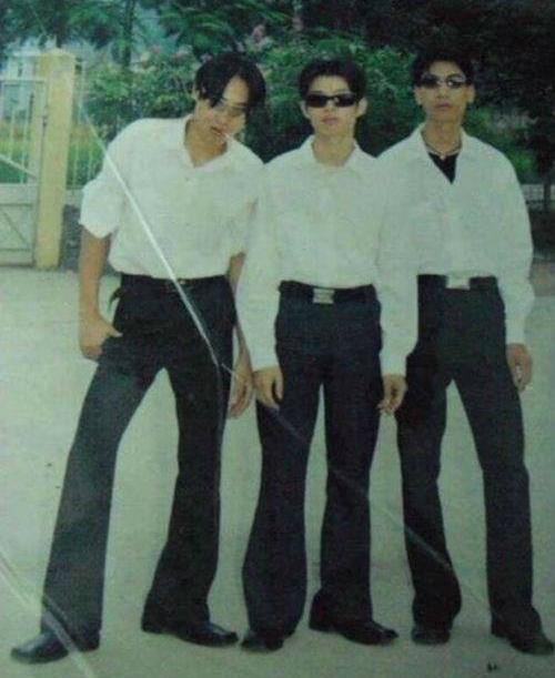 Mốt thời trang thập niên 90.