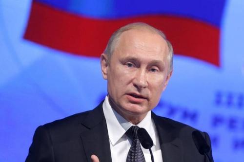 Tổng thống Nga Vladimir Putin. Ảnh: ZumaPress