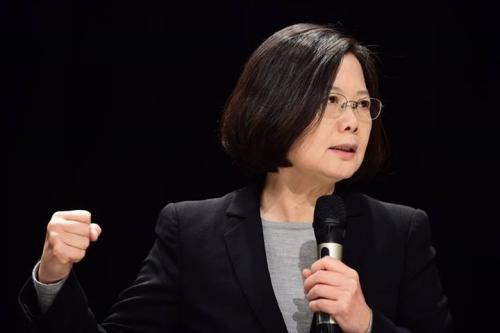 Bà Thái Anh Văn, nữ lãnh đạo đầu tiên của Đài Loan. Ảnh: Facebook