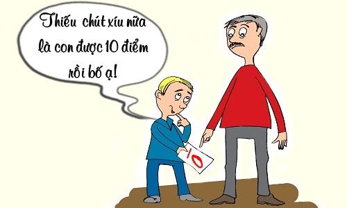 con-trai-bi-phat-vi-suyt-chut-duoc-diem-10