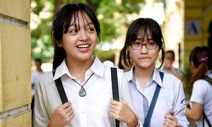 40 trường công lập Hà Nội hạ điểm chuẩn vào lớp 10