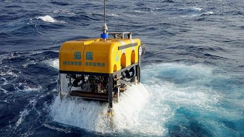 Thiết bị lặn Cá ngựa của Trung Quốc. Ảnh: Guangzhou Marine Geological Survey