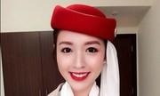 Cô gái Việt làm tiếp viên hàng không ở Dubai gây bão mạng