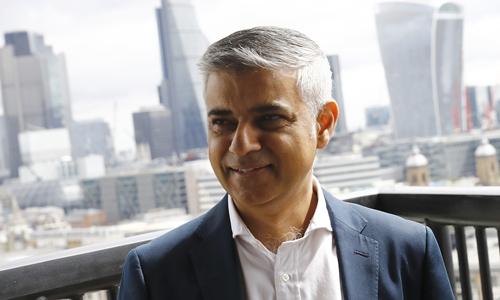 Thị trưởng London Sadiq Khan. Ảnh: Reuters.