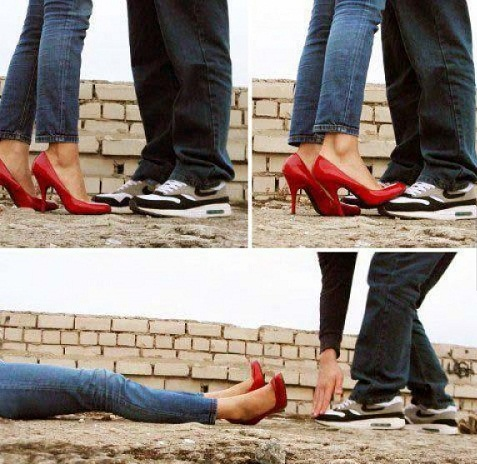 Yêu thì yêu nhưng giày vẫn phải giữ luôn sạch sẽ.