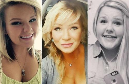 Bà Christy Sheats (giữa) và hai con gái