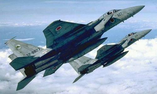 Chiến đấu cơ F-15 của Nhật Bản. Ảnh: Reuters.