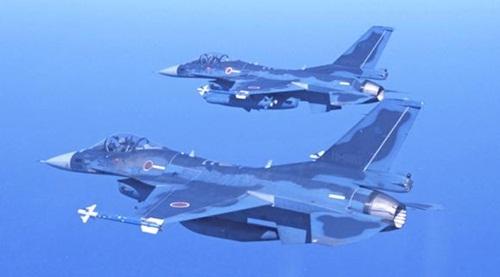 Các chiến đấu cơ F-2 của Nhật. Ảnh: Nikkei