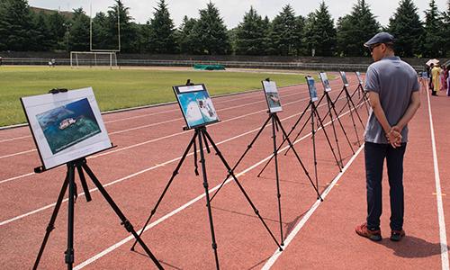 Đây là cuộc triển lãm ảnh về Biển Đông lần thứ 6 diễn ra tại Hàn Quốc