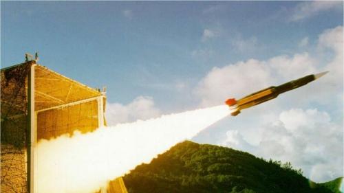 Hình ảnh tư liệu về tên lửa Hùng Phong III. Ảnh: SCMP