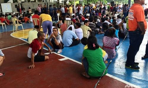 Tội phạm ma túy bị bắt ở Philippines. Ảnh: Channel News Asia.