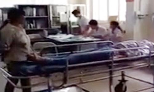 bác sĩ để bệnh nhân chờ chết ở Hải Dương