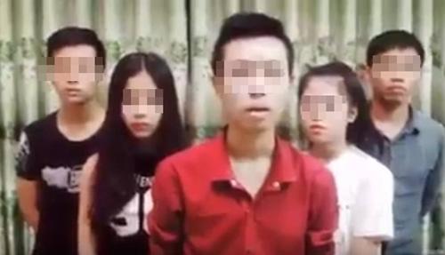 Nhóm học sinh là video chế giễu cuộc thi Trung học Phổ thông tại Huế bị điều tra - hoc sinh hue lam video