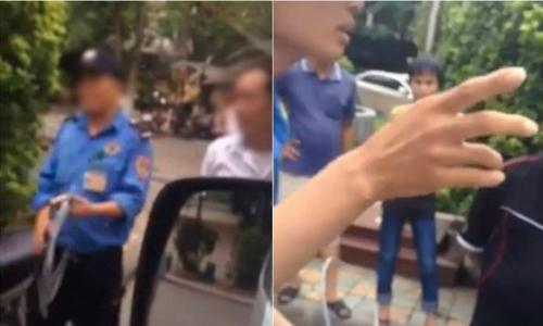 Xuất hiện video mới vụ bảo vệ bệnh viện Nhi chặn xe cấp cứu chở em bé sắp chết - bệnh viện Nhi