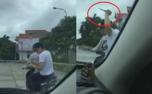 ôtô truy đuổi bắt tên cướp điện thoại