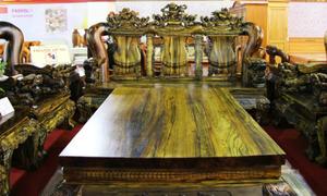 'Đại gia mua bộ ghế kỳ lân nặng 7 tấn giá 2,2 tỷ' nóng trên Vitalk