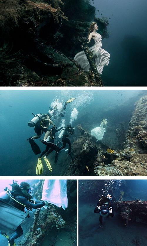 Hóa ra muốn trở thành nữ thần đại dương phải chấp nhận sự trói buộc - sự thật khó đỡ, ảnh nghệ thuật