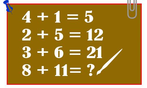Tìm quy luật và cho biết kết quả của phép tính - câu đố hại não, câu hỏi IQ