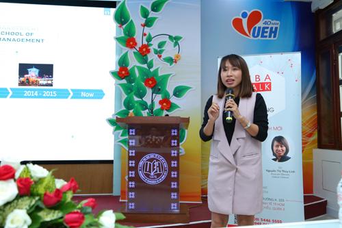 Chị Nguyễn Thị Thùy Linh  Associate Director của Nielsen Vietnam