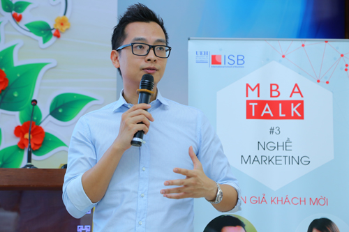 Anh Trịnh Việt Anh  Marketing Director của Suntory Pepsi Co.