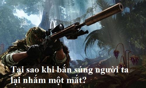bắn súng, bắn tỉa
