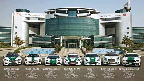 Nơi duy nhất trên thế giới dùng Lamborghini, Aston Martin làm xe cảnh sát - chỉ có ở Dubai, Dubai