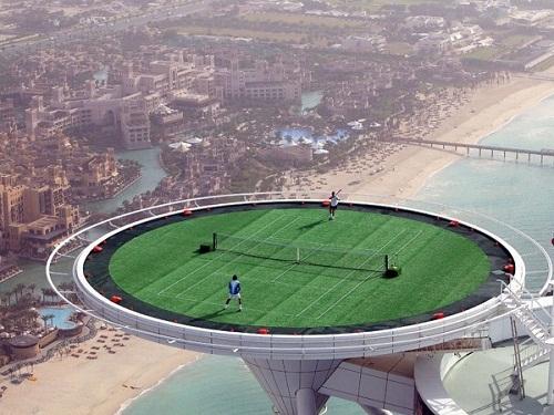 Sân quần vợt trên không - chỉ có ở Dubai, Dubai