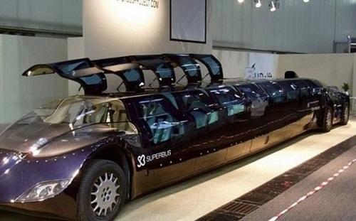 Siêu xe buýt của xứ nhà giàu - chỉ có ở Dubai, Dubai
