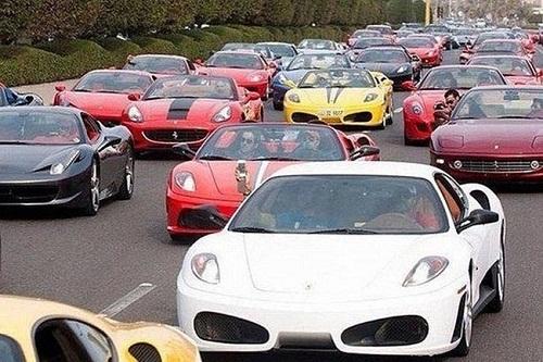 Khung cảnh kẹt xe ở Dubai - chỉ có ở Dubai, Dubai