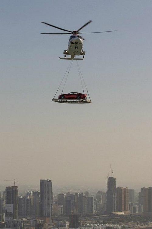 Giải pháp nhanh gọn giải quyết vấn đề kẹt xe - chỉ có ở Dubai, Dubai