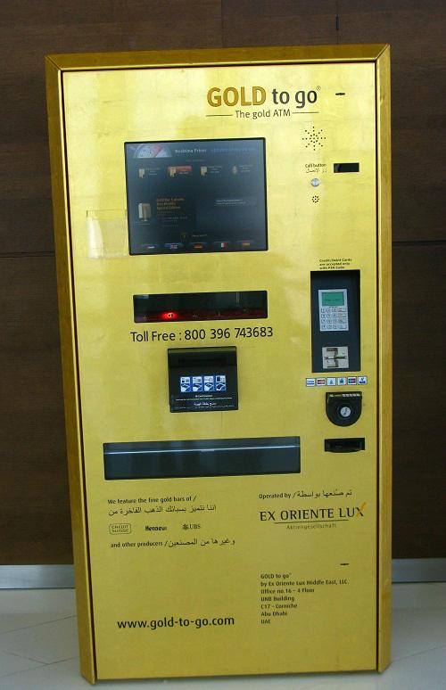Nếu bình thường bạn dùng ATM để rút tiền thì ở Dubai, ATM dùng để rút vàng - chỉ có ở Dubai, Dubai