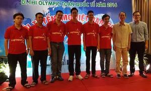 Việt Nam giành huy chương vàng Olympic Toán quốc tế 2016