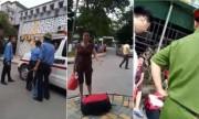 Bảo vệ chặn xe cấp cứu: Nếu sai mai ba thằng mình nghỉ việc