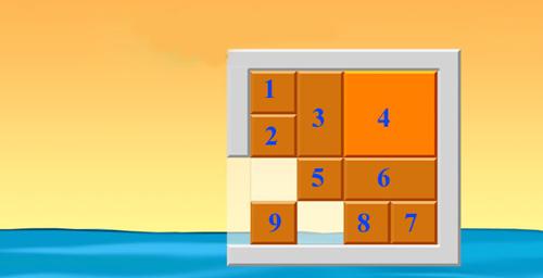 Hãy di chuyển khối vuông màu cam ra khỏi khung hình -  di chuyển khối vuông