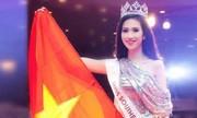 Hoa hậu xin lỗi vụ nói tiếng Anh khiến khán giả ngơ ngác