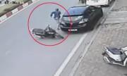 Trộm xe vứt SH bỏ chạy trối chết vì bị bắt quả tang